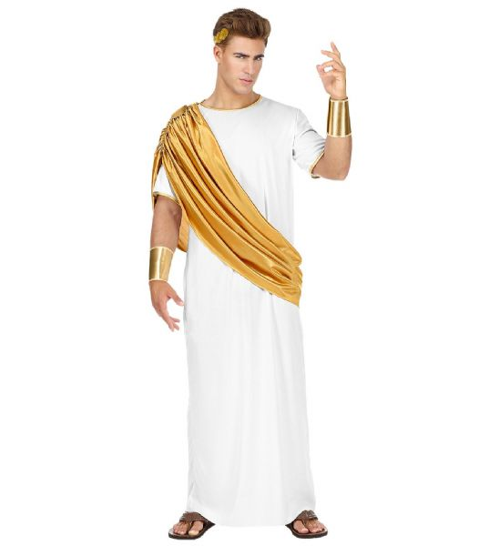 Adults Mens Caesar Ancient History Fancy Dress Costume